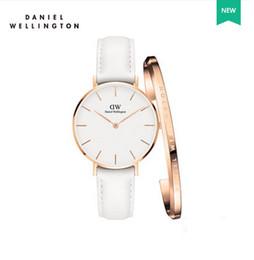 Новый Даниэль женские Наручные часы 32 мм женские часы роскошный бренд известный кварцевые часы женские часы Relogio Montre Femme все стали браслет от Поставщики квадратные часы
