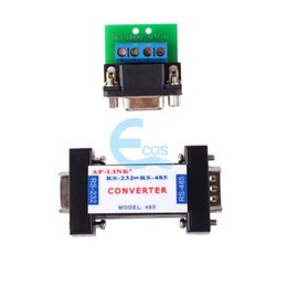 Wholesale Rs485 Data Cable - Wholesale- RS232 to RS485 Passive Interface Converter Adapter Data Communication Serial#61516