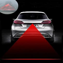 anti fog laser 2018 - Car Laser LED Tail Fog Light TIMO Rear Anti-Collision Safety Signal Warning Lamp 12V #21
