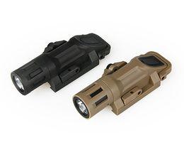 Wholesale Night Evolution - Outdoor Hunting Night Evolution 21mm Mounted LED Multifunction White Light Tactical Quick Detachable Flashlight BK DE