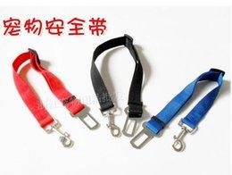 Wholesale Lowest Price Dog Belts - Dog Seat Belt car seat belt pet seat belt low price declare pet 100pcs 1222#22