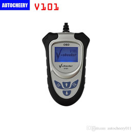 Wholesale Can Bus Skoda - VCHECKER V101 OBD2 Code Reader Without CAN BUS OBD2 V-CHECKER V-101 Professional Diagnostic Scanner