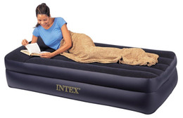 Wholesale Building Electric - Pillow Rest Twin Airbed with Built-in Electric Pump, Air Mattress, New