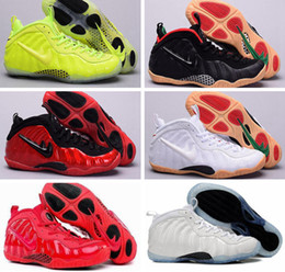Wholesale Star Fish Silver - 2016 Cheap Air Hardaway Pro NRG GALAXY ALL STAR PENNY GLOW QS AIR Holoposite PRM ROYAL BLUE OG KEYCHAIN Red Black US 8-13 Basketbal Shoes