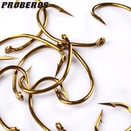 Wholesale Fish Trout - Wholesale-200pc Fly Fishing Hook 80250-6 8 10 12 Size fishhook Fly Hooks Fishing Trout Salmon Dry Flies Fish Hook