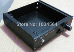 Wholesale Headphone Amplifier Case - Home Audio Video Equipments Amplifiers FULL aluminum chassis case enclosure for E4 headphone enclosure sata enclosure usb