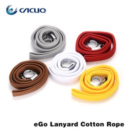 Wholesale Hang Ego - Ego Lanyard Cotton Rope Colorful Necklace Lanyard Hand Straps Short Hang Wrist Ropes for Ipad Cell Phone MP3 MP4 Camera ID Card Badge