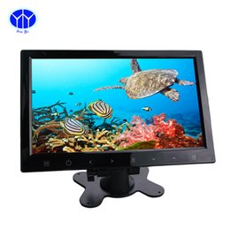 "Wholesale Stand Headrest Monitor - 10.2"" Car 2 Channels Video Input Touch LCD Buttons Car Rearview Headrest DVD VCR Monitor Stand alone"