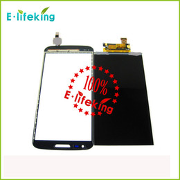 Wholesale White Screen Sell - Black & white Hotest Sell LCD For LG G2 Display Touch Screen Digitizer Assembly Replacement with free shipping