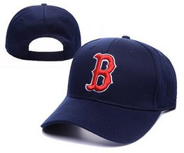 Wholesale Snaps Snapbacks - Boston Snap Back Hats Red Sox Team Snapbacks Sox Snap Backs Adjustable Caps 2015 New Style Baseball Snapback Summer Flat Caps Dark Blue Hats