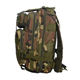 Wholesale New Molle Rucksack - 2016 New Outdoor 30L 3P Backpack Waterproof Molle Trekking Tactical Camping Military Sports Rucksacks Backpacks Classic Bag 9 Colors 2509005