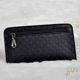 Wholesale Coin Offers - Wholesale- Special offer women wallet brand zipper long organizer thin wallet female coin purses cell phone pocket