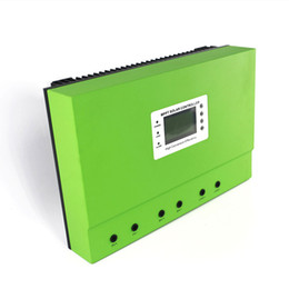 Wholesale Quality Solar Systems - High Quality Solar Panel Control Unit 100A for 12V 24V 36V 48V System with 3 Stages Battery Charging Control