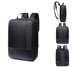 Wholesale Black Computer Bag - Men bag waterproof polyester laptop backpack leisure, daily pack 3 in 1 one shoulder, shoulders, tote bag backpack