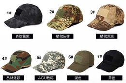 Wholesale Dome Camping - VC-06 Men Women Baseball Cap Tactical Cap Sun Hat Outdoor Hunting Camping special forces Ghost Commando Tactic Hat