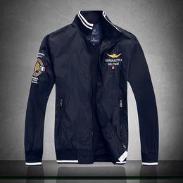 Wholesale Top Brand Winter Jackets - Fall-New Arrival top brand outdoors clothes Men winter Fleece Jacket, Air Force One Windbreaker Jacket ,Aeronautica Militare Coat