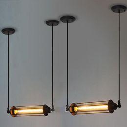 lampadari in stile loft Sconti Stile vintage Loft Edison Lampadario a sospensione Hotel Cafe Bar Ristorante Lampade a sospensione Lampadario a soffitto Stile luce punk Luce a sospensione in metallo