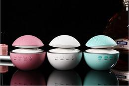 Wholesale Mini Mushroom Night Light - Y680 Mushroom crack mini Bluetooth speaker Bright LED night light speakers Portable LED Speaker