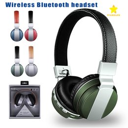 Wholesale Packaging For Headbands - BT008 Bluetooth Wireless Earphone Universal CRS 4.1 Bluetooth Folable Stereo Headphone Headset Hansfree with Retail Package