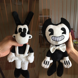 Wholesale Toys Sizes - Large Size Bendy and the ink machine Bendy and Boris Plush Doll Toys 35 cm