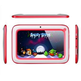 Wholesale 3g For Android Tablet - 7 inch Android 4.4.2 Kids Tablet PC for Children with Wifi Dual Camera 512RAM 8GB ROM tablet pc for Kids Gift B-QPB Wholesale