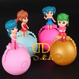 Wholesale Dress Girls New D - D-kids DB-d000201 1pcs pack 2017 New LOL SURPRISE DOLL Dress Up Toys baby Tear open change egg dolls can spray toys