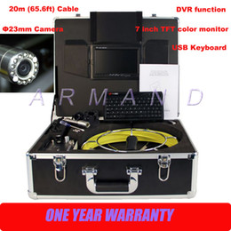 Wholesale Drain Inspection Cameras - Underground inspection camera Push Rod Drain Internal Video Survey 710DK Camera CCTV Pipe Wall Inspection Camera