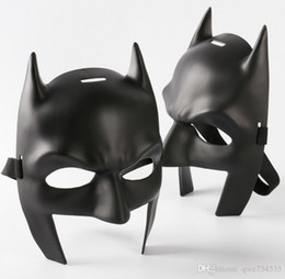 Wholesale Superman Mask Kids - New Batman V Superman Batman Mask Child Boys Kids Fancy Dress Costume
