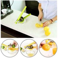 Wholesale Orange Juicer Machines - New Manual Fruit Lemon Juicer Squeezer Hand Press Lime Orange Juice Extractor Kitchen Cooking Tools Fruit Juice Machine