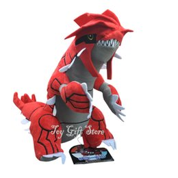 "Wholesale Stuffed Animal Farm - Free Shipping Groudon 11"" Plush Doll Stuffed Toy Plus Animals Toys Gifts"