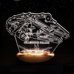 Wholesale Star Wars Items - Hot Item Star War Pattern Home Lighting Xams Party Bar Home Room Decoration Night Lights Christmas Gift