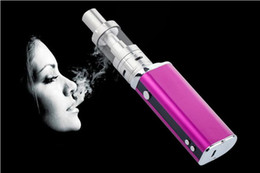 Wholesale Electronic Cigarette Lcd Screen - New E-cigarette Kits High-power Battery Capacity 2200mah Smart With LCD Screen Steam Smoke 40W Electronic Cigarette Smoke Sub-cigarette