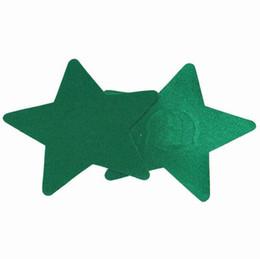 6 colores en forma de estrella Seguridad protección del medio ambiente tapones de pezones sexy pezón adhesivo 200 pares una vez uso cubierta desde fabricantes