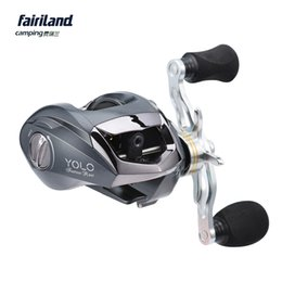 Wholesale Fake Leaves - New 6.3:1 10+1BB Baitcasting Reel 4.5kg Drag Power Lightweight Bait Casting Left Right Handed Available Baitcaster fish reel fishing tackle