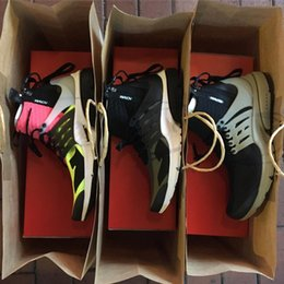 Wholesale X Hot Golf - With Box ACRONYM x Air Presto Running Shoes for Men Trainers High Top White Black Hot Lava Sneakers Size 40-45