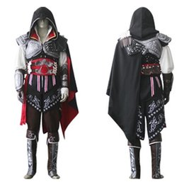 Wholesale Complete Costume - Assassin's Creed IV 4 mascot Edward Kenway complete Flag Custom Express