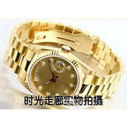Wholesale Cheap Good Watches - 2016 Hotsale gold good man with brand new drop shipping Mechanical cheap High quality Automatic master men watch luxury sports Men's Watches