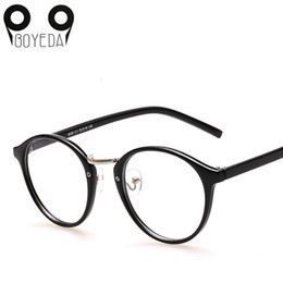 55852f87cc Atacado-BOYEDA Retro Rodada Óculos Moda Feminina Computer Reading Eye  Glasses para Mulheres Optical Vintage Spectacle Frame oculos de sol