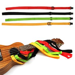 Wholesale Webbing Straps Adjustable - 1Pcs 60cm Length Adjustable Webbing Ukulele Strap Belt Sling with Hook Guitarra Strap For Ukulele Guitar Parts Accessories