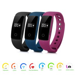 Wholesale Wireless Gps Watches For Kids - Diggro ID107 Heart Rate Smart Bracelet Watch Heart Rate Monitor Smart Band Wireless Fitness Tracker Wristband for Android iOS