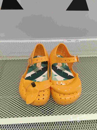 Wholesale Banana Leather - New Mini Sandals Shoes 2016 Summer Banana Sandals Cute Boys Girls Shoes Children Baby Shoes Boy Girl Shoes Mini Sandals