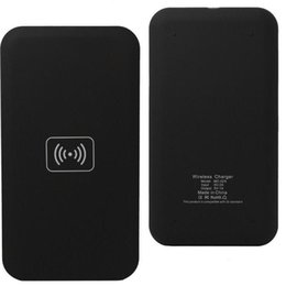 Wholesale Qi Wireless Charger Transmitter Pad - Universal Cell Phones Qi Wireless Charger Wireless Charging Pad Wireless Charging Nexus Transmitter for iPhone Samsung Nokia All Phones