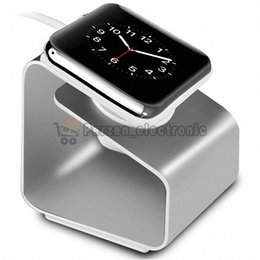 Wholesale Iwatch For Sale - Cheapest! For iWatch Aluminum Charging Stand Station 38mm 42mm Charger Holder for Apple Watch Charging free shipping 50pcs lot hot sale