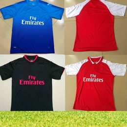 Wholesale Fr S - Free delivery 2017 2018 new Gunners OZIL soccer jersey 17 18 ALEXIS WILSHERE GIROUD LACAZETTE CHAMBERS XHAKA home away 3rd football shirt fr