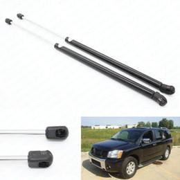 Wholesale Car Struts - 2pcs set car Fits for 2004 Nissan Pathfinder 2005-2014 Nissan Armada Rear Hatch Gas Spring Lift Supports Struts Prop Arm Shocks
