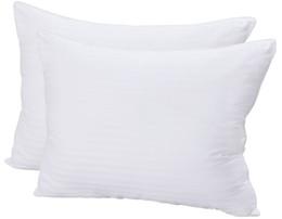Wholesale Cotton Filling Pillow - Super Plush Gel-Fiber Filled Pillows - (2 Pack , Standard Queen ) - 100% Cotton, T-240 Mercerized Shell, Dust Mite Resistant, 3D Hollow