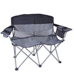 Wholesale Fabric Arm Chairs - Apex Double Arm Chair (Black Silver)