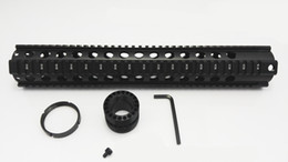 Wholesale Ar Free - AR 15 Handguard 15 inch .223 5.56 Free Float Quad Rail Handguard Picatinny Rail System Forend For AR15 M4 M16