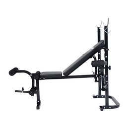 Wholesale Function Exercises - Wholesale-US Delivery 2016 New Hot Adjustable Weight Lifting Multi-function Bench Fitness Exercise Strength Workout High Quality