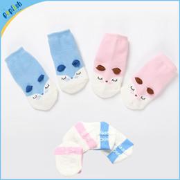 Wholesale Bottom Girl Korean - Small wholesale 3d ear 2016 fox design 0-4T brand bottom girls boys korean kids cartoon socks